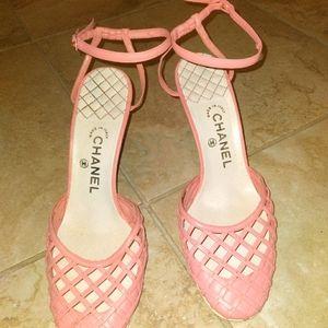 RARE! Vintage Chanel Sandals